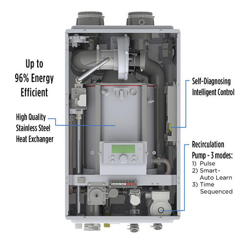 gas tankless water heater cost with installation